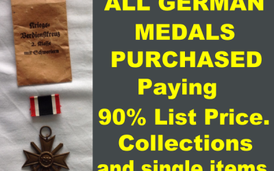 Sell Old War Souvenirs Today At Full Retail Value.